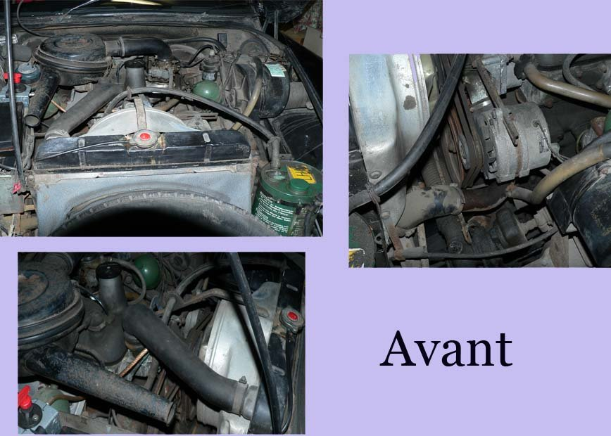 Moteur avant intervention